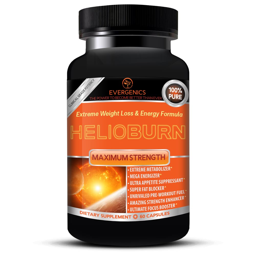 Helioburn Extreme Weight Loss & Energy Formula Bottle