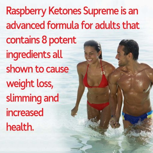 Man and woman losing weight with Raspberry Ketones weight loss supplement