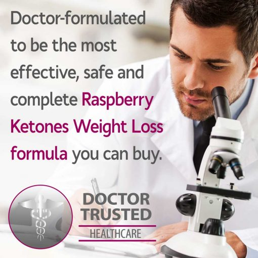 Doctor formulated Raspberry Ketones Supreme weight loss formula