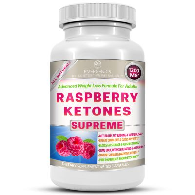 Raspberry Ketones Supreme Weight Loss Formula for Adults Bottle