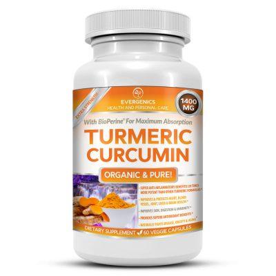 Turmeric Curcumin Bottle