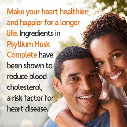 Use Psyllium Husk Complete To Improve and Protect Heart Health!