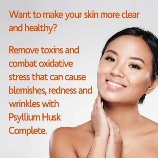 Remove Toxins Daily With Psyllium Husk Complete and See Improvements All Over!