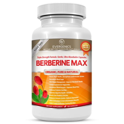 Berberine Max 1200MG Organic Bererine HCl Nutritional Supplement