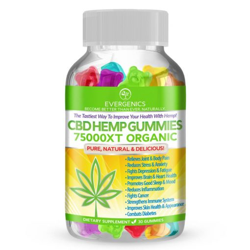 CBD hemp gummies bottle