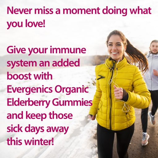 Elderberry Gummies Descriptive Image - Elderberry Protects Against Cold and Flu